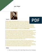 Biografía de Degas
