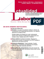 Revista Actualidad Laboral Abril 2014