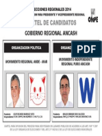 Cartel de Candidatos Ancash (1)
