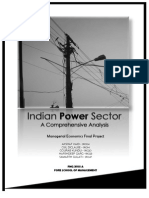 Indian Power Sector Demand and supply