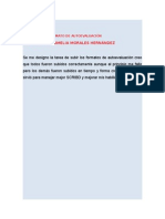 Reporte de Formato de Autoevaluacion Amelia Tercer Parcial