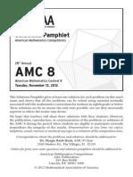 2012AMC8 Solutions
