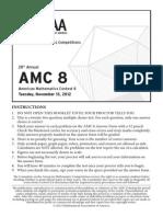 2012 Amc 8 Problem