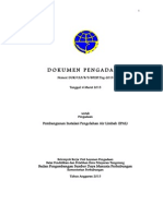 Dokumen Pemilihan Langsung Pembangunan Instalasi Pengolahan Air Limbah (IPAL)