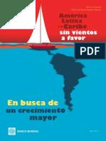 America Latina y El Caribe Sin Vientos a Favor