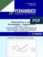 ProfessorAutor-Matemática-Matemática  Ι  1º ano  Ι  Médio-Crescimento e decrescimento de uma função e Taxa de variação de uma função (1).ppt