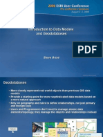 Arc Hydro Groundwater (2) - Introduction to Data Models and Geodatabasesl