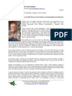 Paul Hawken Speech (Portuguese)