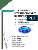 Carpeta Comercio Internacional