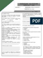 lista de atividades de ciências 7º ano