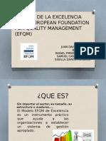 DIAPOSITIVAS DEL MODELO EFQM CALIDAD TOTAL