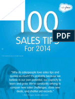 100 Sales Tips for 2014-Salesforce eBook