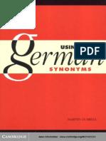 42374657 Using German Synonyms