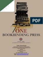 7 in 1 Bookbinding press