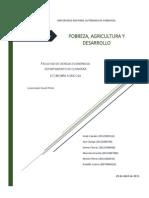 Pobreza, Agricultura y Desarrollo