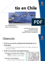 Litio en Chile