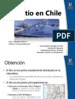 Litio en Chile