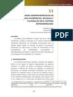 Estándares Jurisprudenciales de DESC en el Sistema Interamericano