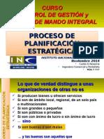 Clase 3 Planificacion Estrategica Curso Control Gestion y Cuadro Mando INE