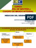 Clase 6 MEDICION DEL DESEMPEÑO Del Curso Control Gestion y Cuadro Mando INE
