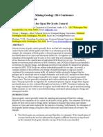 Optimum Dig Lines for Open Pit Grade Control