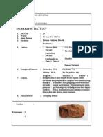 Laporan Deskripsi Batuan Sedimen