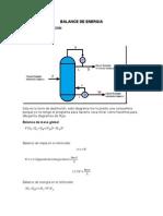 Balance de Energia Torre de Destilacion