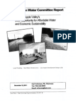 Blue Ribbon Water Commission Report, December 12, 2011