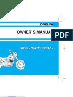 Daelim Daystar Fi Manual
