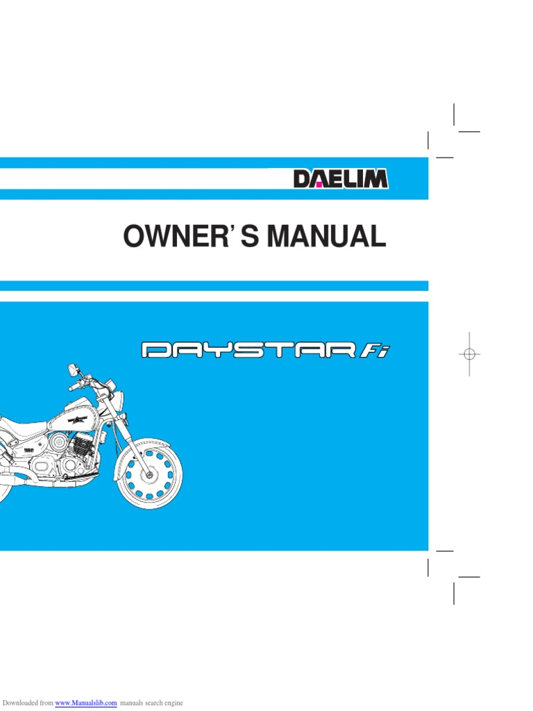 Daelim Motorcycle Wiring Diagrams - Information Of Wiring Diagram •