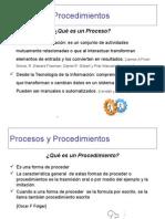 Procesos y Procedimientos