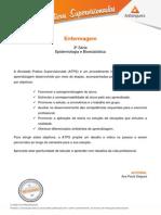 ATPS 2015 1 Enfermagem 3 Epidemiologia Bioestatistica