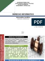 Caracteristicas de La Informatica Juridica