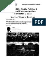 Govt2603 Unit Outline