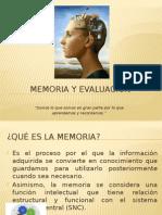 Memoria y Evaluación