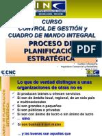 Clase 3 Proceso Planificacion Estrategica Curso Control Gestion y CMI MINEDUC