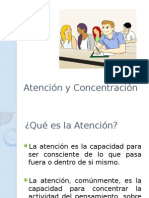 Atención y Concentración SESION 2