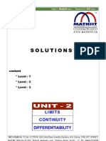 Limit Contion Differ Solution