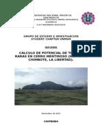 Informe Cerro Mentiroso