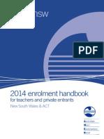 Ameb Enrolment Handbook 2014