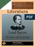 Lord Byron- O Cerco de Corinto