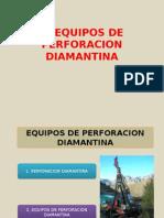 Maquinas de Perforacion Diamantina