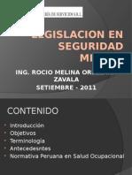 Legislacion en Seguridad Minera