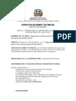 Especificaciones Tecnicas Cp 20 Libros