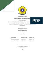 Laporan Kemajuan PKM-KC 2015