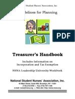 Treasurer Guidelines