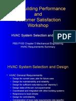 HVAC Design Requirement