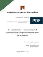 Investigación Sobre Competencia de La Comunicación
