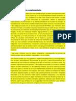 Adjunto Documento Complementario