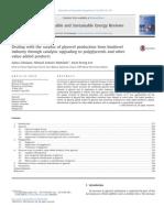 Productos derivados del glicerol